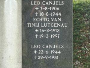 Canjels, Leonardus Hubertus