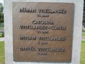 Cohen, Carolina geh. Vrieslander