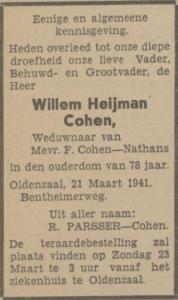 Cohen, Wolter