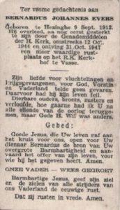 Evers, Bernardus Johannes