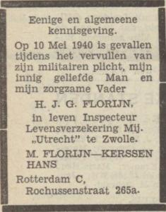 Florijn, Hendrik Gerrit Jan