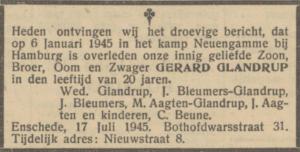 Glandrup, Gerhardus Bernardus