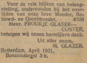Glaser-Moses