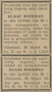 Hoekman Klaas