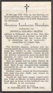 Horsthuis Henricus Lambertus