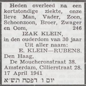 Klein Izak
