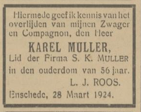 Muller Elia geh. Muller