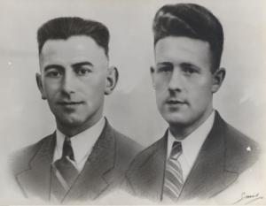 Bernard Evers en Geert Schoonman