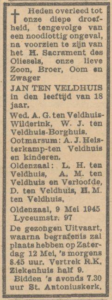 Veldhuis ten Jan