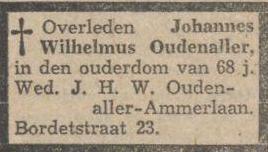 Oudenaller Joop