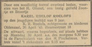 Roelofs Karel