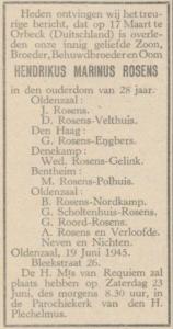 Rosens Henk