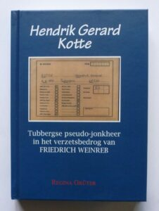 Kotte Hendrik boek